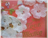 Set of 12 Frosty Raised Flower Buttons