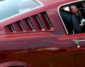 Classic Mustang Fastback Photo Insert Note Card 5x7 Suitable for Framing