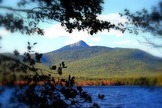 New England Mt. Chocorua Note Card