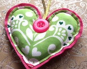 SALE Christmas Heart Decoration