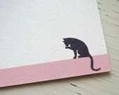 Cat Note Cards -  Personalized Stationery - Flat Notes - Boxed Cards - Notecards - Set of 10