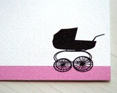 Personalized Stationery Baby Girl Personalized Stationary Thank You Cards Shower Gift