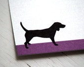 personalized note cards beagle personalized flat note cards dog stationery