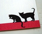 Cats Personalized Stationery - Thank You Notes - Notecards . Pets . Note Cards . Pet Lovers .  Set of 10