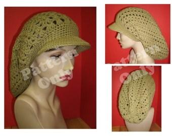 Crochet Pattern - Round Brimmed Rasta Hat