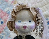 Beautiful Doll - Handmade Vintage Clothing