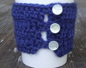 By The Sea Coffee Cozy - Wool