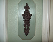 Shabby chic decor...Vintage...French country...Door knob wall hook