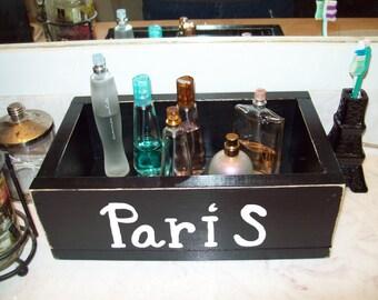 PARIS storage box,Paris decor,Paris bathroom decor,wedding card box,Paris party decor,Paris bedroom decor,Paris wedding decor