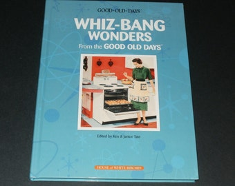 Whiz-Bang Wonders from the Good Old Days-NEW Hardcover Book-Vintage Ads- 1950s-Retro-Art