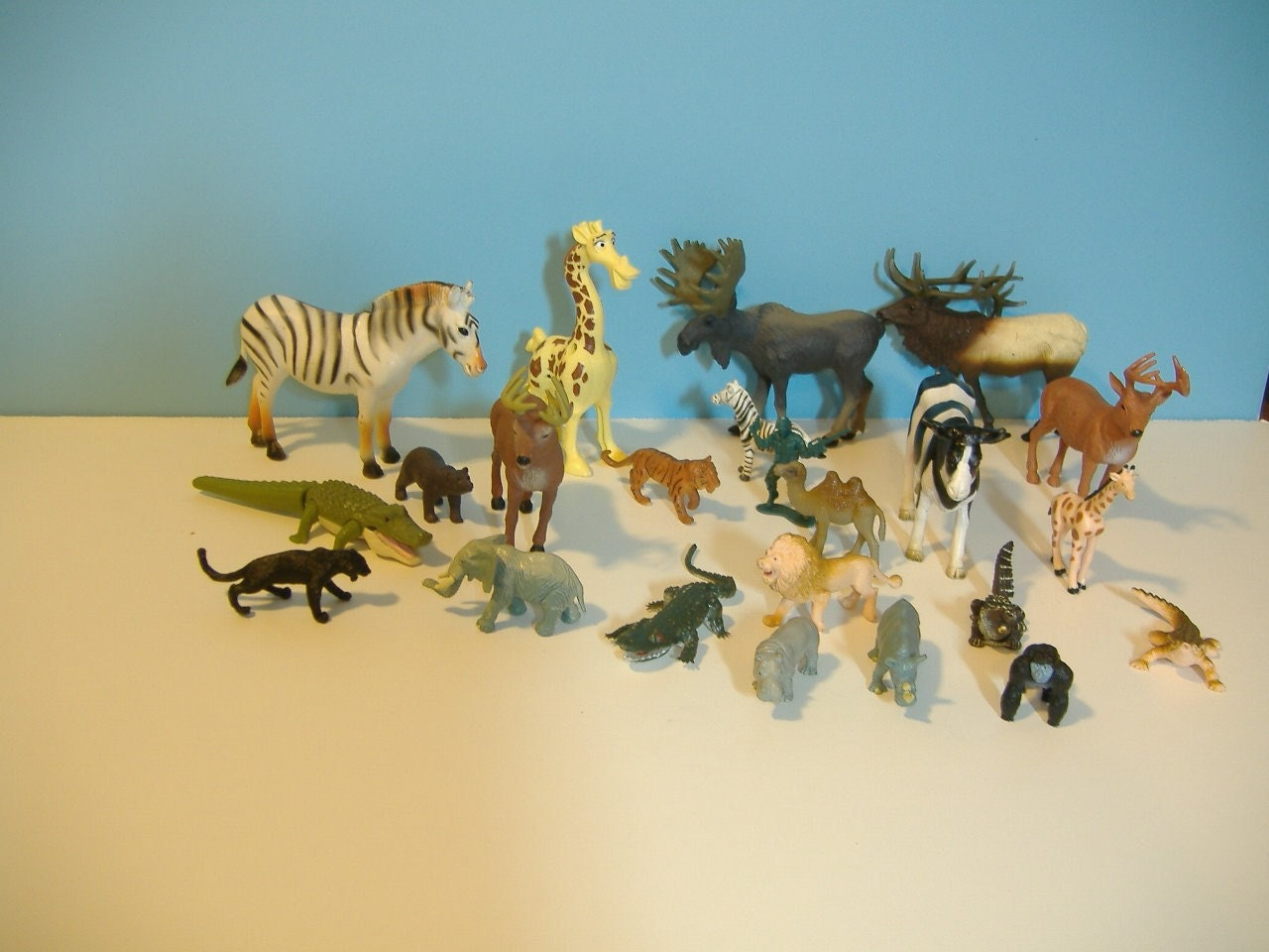 Zoo animals toys - photo#35