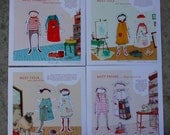 SALE CraftSanity Paper Doll Print Collection
