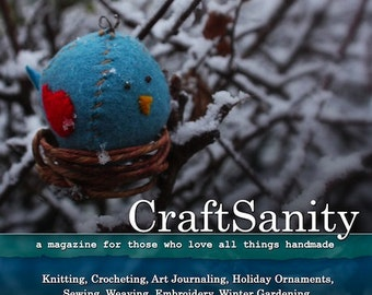 CraftSanity Magazine Issue 5 Print Edition