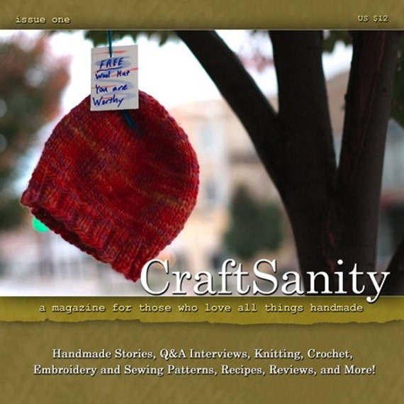 PDF CraftSanity Magazine Issue 1
