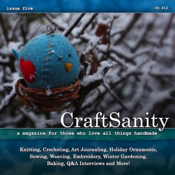 SALE! CraftSanity Magazine Issue 5 Print Edition