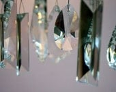 Crystal Windchimes (French Garden), Indoor / Outdoor - Handmade