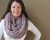 Sarah Cowl - Silver Grey & Pink - Ready to ship