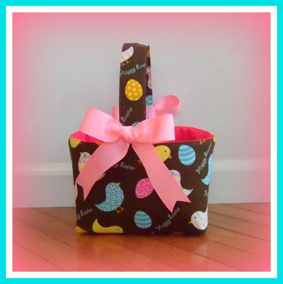 Reserved listing for trishl80....Personalized Easter Basket by Two Sugar Peas