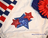 Ready to Ship Size 12-18 M Stars and Stripes Forever Bloomers and Leg Warmer Set Great for Costumes, Birthdays, Photo Props and Dress-Up