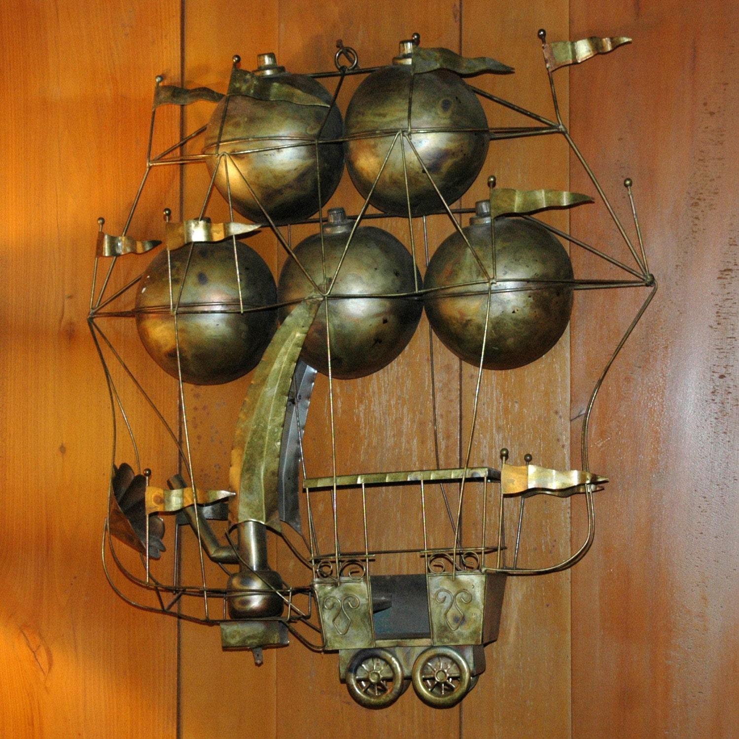 Brass Home Decor: Brass Steampunk Airship Steampunk Home Decor