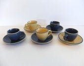 Vintage cup and saucer Expresso Cup and Saucer