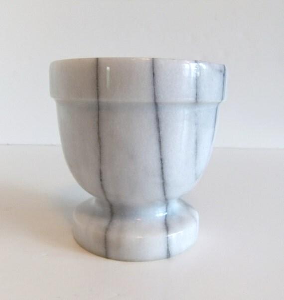 Reserved, Vintage Marble Mortar