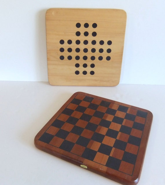 Solid Wood Game Boards