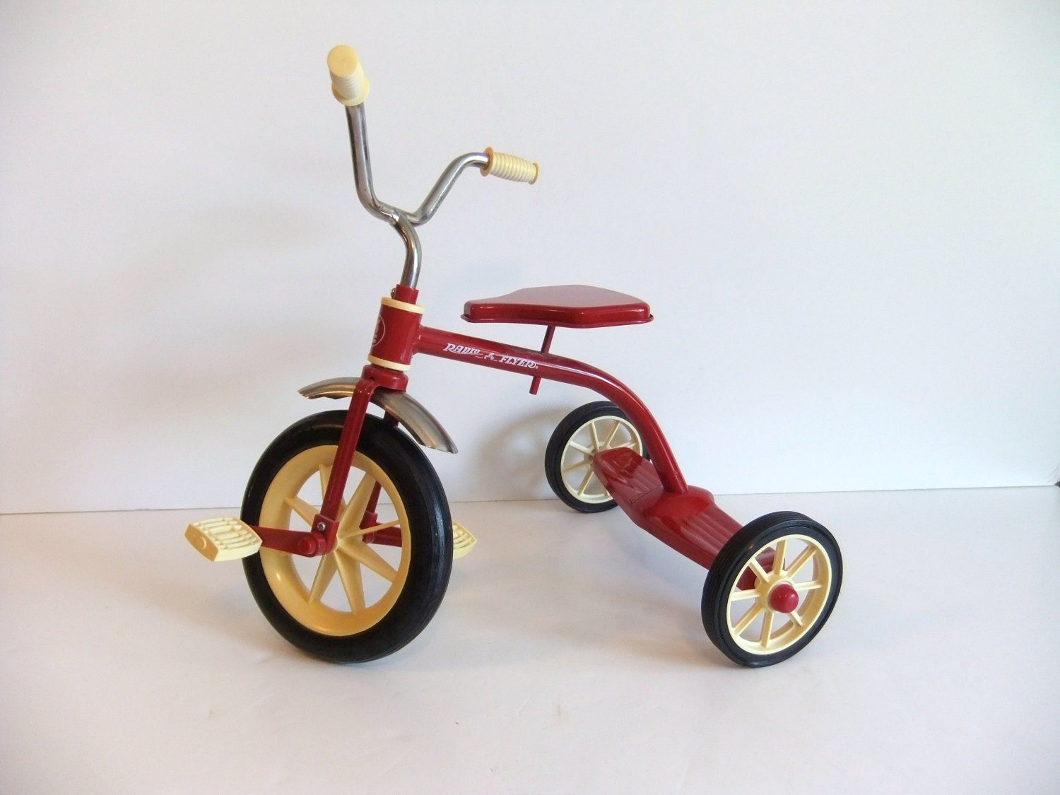 Radio Flyer Tricycle Miniature Red Bike By Nimblesnook On Etsy