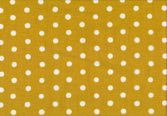 Yellow and Natural Dot Dot Dot from Echino Basics - half yard