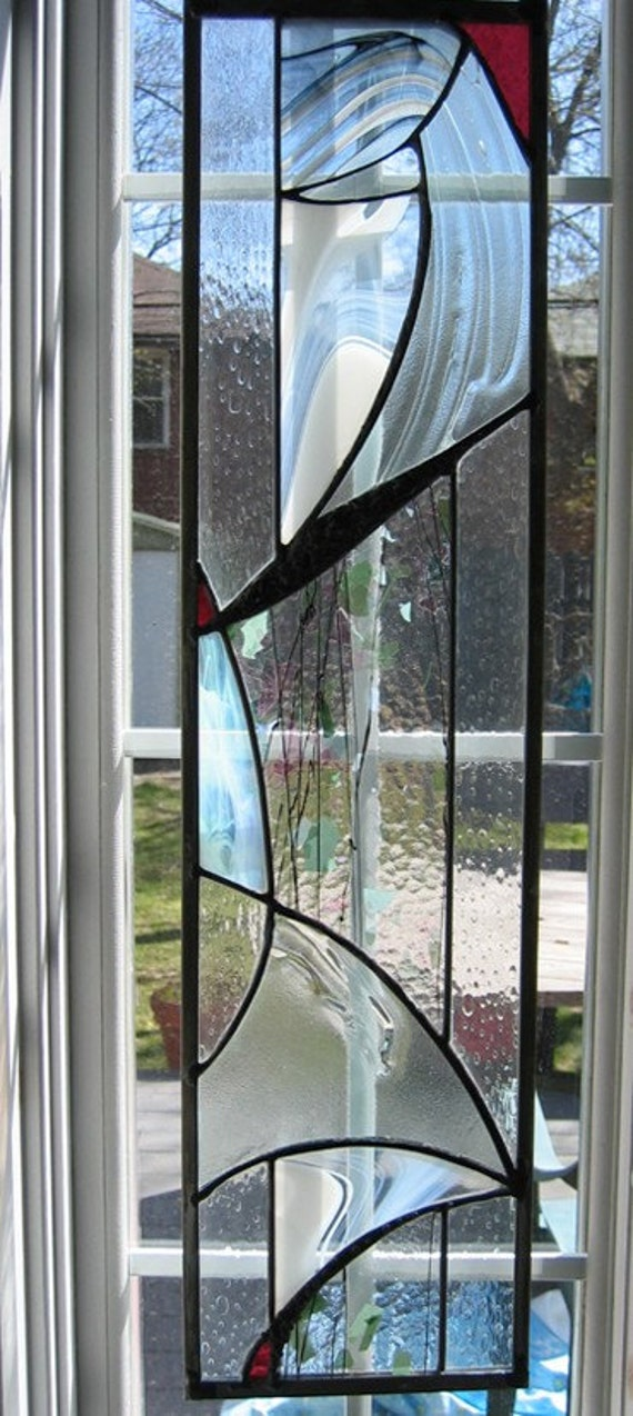 Art glass window panel for Art glass windows