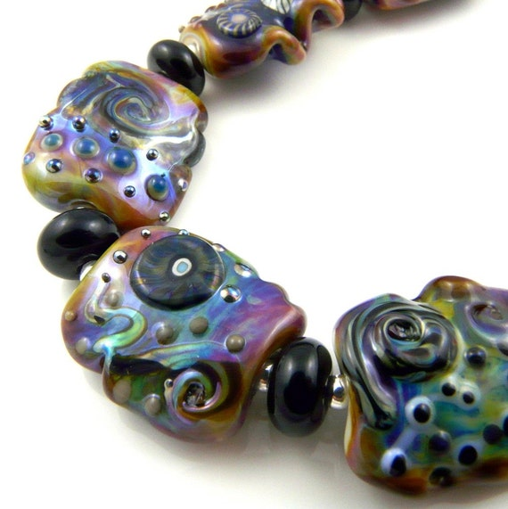 Melody Lampwork Bead Set Multicolour SRA FHFteam
