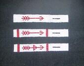 Handmade Beaded OA Pocket Sash