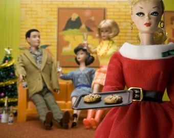 Barbie Christmas Fine Art Photograph