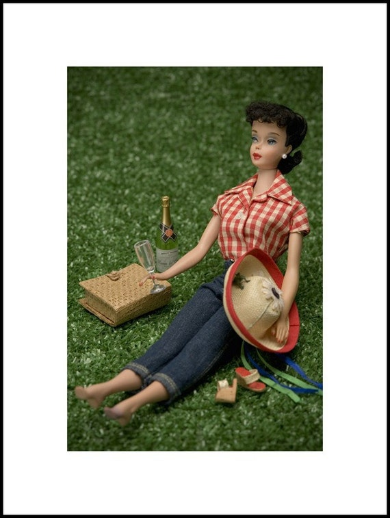 ANY 8 x 12 Barbie photo with 12 x 16 white mat