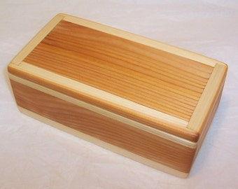 Handcrafted Reclaimed Cedar Wood Box
