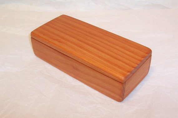 Handcrafted Reclaimed Redwood Box