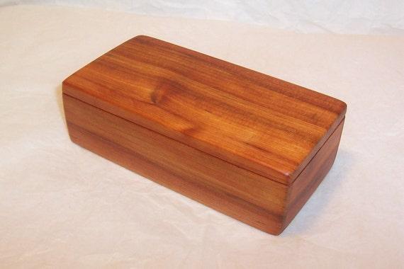 Handcrafted Reclaimed Cedar Wood Box