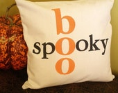Halloween Pillow Cover - Spooky