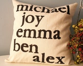Modern Family Customized Pillow Cover