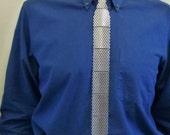"""Metal, Slim Necktie, Aluminum, Perforated 1/8"""" (3 mm) Holes"""