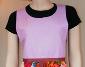 1960s Apron - Lavender - Free Shipping in US