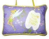 Tooth Fairy Pillow with Pocket for Children in Preschool Kindergarten Grade School Girls Christmas Holiday Gift Idea