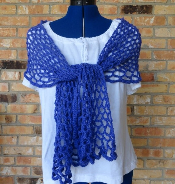 Crochet Pattern, Crochet Scarf Patterns, Easy Breezy Crochet Wrap Tutorial, Easy to Follow Lace Scarf Pattern for all Crochet Levels