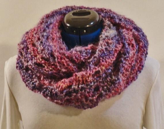 Knitting Cowl With Circular Needles : Mobieus knit cowl pattern knitting for homespun
