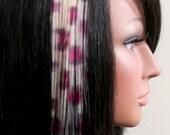 Pop Leopard - Human Hair Extensions 8 Inch