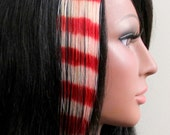 Candy Cane Jane - Human Hair Extensions 8 Inch