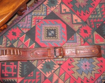 MADE TO ORDER Custom leather gun belts - 10/12 week delivery