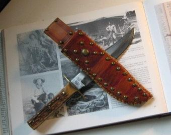 Custom Made-to-Order Cowboy knife sheath - 10/12 week delivery