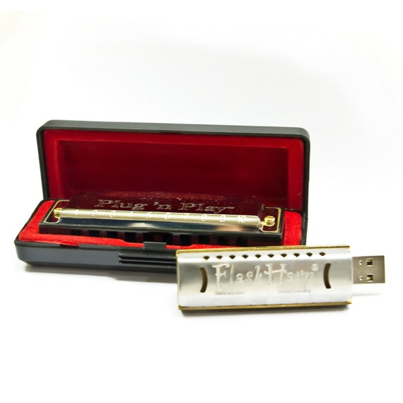 Personalized 8GB Play Harmonica Kit