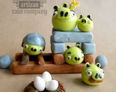Angry Birds Edible Toppers - Pigs Set
